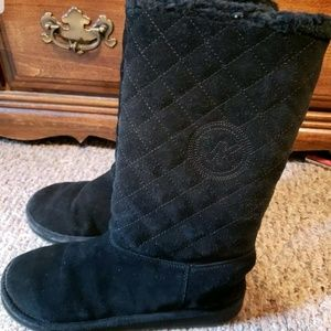 Michael kors shearling winter boots size 8